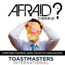 Afraid to speak up?