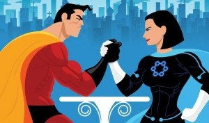 Hombres vs Mujeres Toastmasters