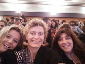 Hellen, Jette y Claudia en el Concurso Nacional Madrid 2015