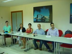 Grupo de asistentes Toastmasters Málaga