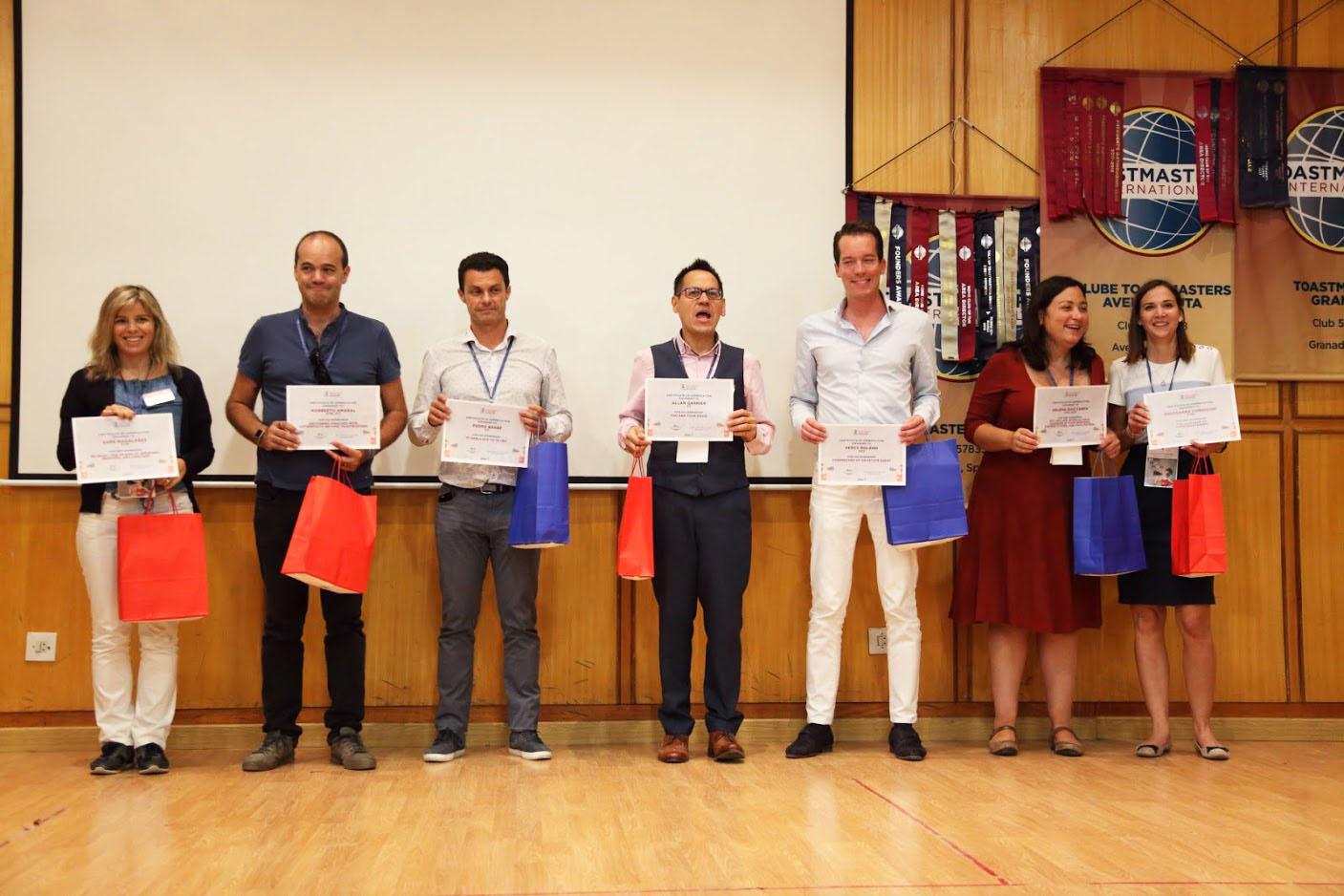 Foto de un concurso